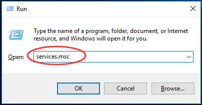 "Use sfc to check system file, type ""services.msc"" in run."