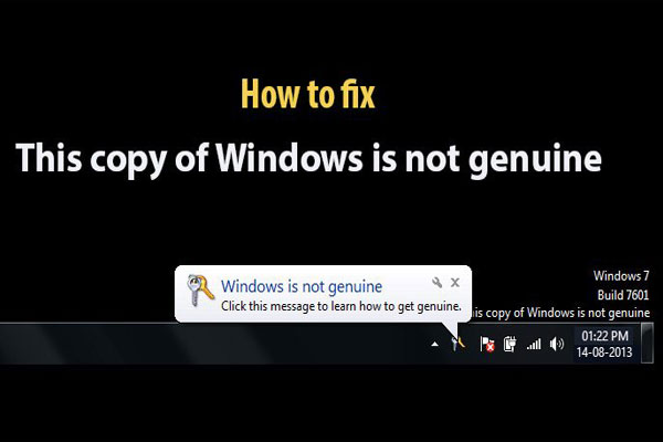 "4 Ways To Fix ""This Copy Of Windows Is Not Genuine"