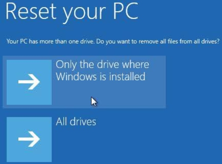 "Fix - ""The drive where windows is installed is locked"" error"