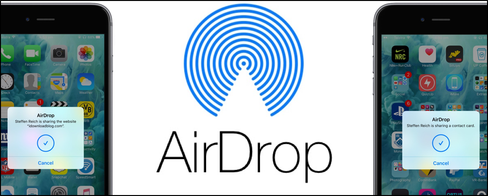 How To Use AirDrop o Windows