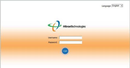 username and password of Hitron router
