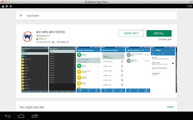 WPS WPA tester for pc features