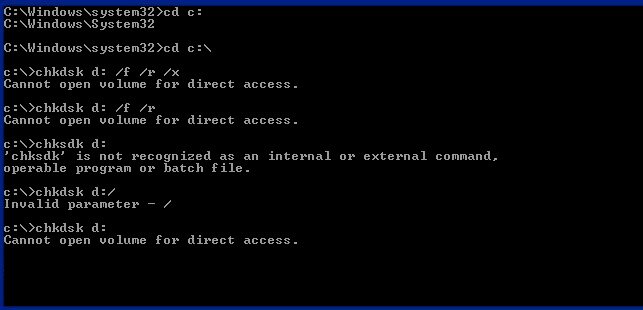 chkdsk-cannot-open-volume-for-direct-access